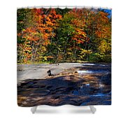 Fall Falls Shower Curtain
