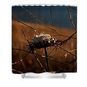 Fall Flower Shower Curtain
