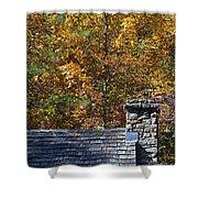 Fall House In Carolina Shower Curtain