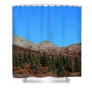 Fall In Denali Shower Curtain