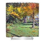 Fall In Goat Island Shower Curtain