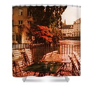 Fall In Lucerne Switzerland Shower Curtain