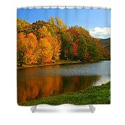 Fall In New York State Shower Curtain