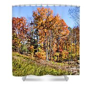 Fall In The Foothills Shower Curtain