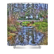 Fall In The Park Shower Curtain
