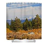 Fall In The Sierra Shower Curtain