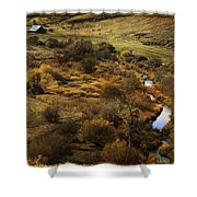 Fall In The Valley Shower Curtain