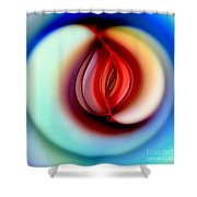 Fall Into Sin Shower Curtain