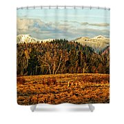 Fall Landscape-hdr Shower Curtain