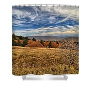 Fall On Whitetop Mountain Shower Curtain