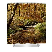 Fall River Colors Shower Curtain