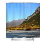 Fall Scene Shower Curtain
