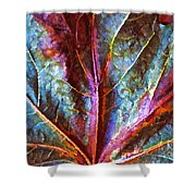 Fall Up Close Shower Curtain