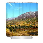 Fall Valley Shower Curtain
