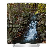 Fall Waterfall Shower Curtain