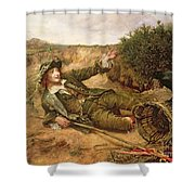 Fallen By The Wayside Shower Curtain