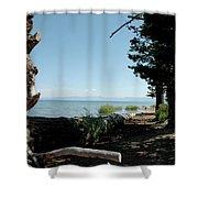 Fallen For Lake Tahoe Shower Curtain