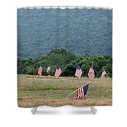 Fallen Soliders Shower Curtain