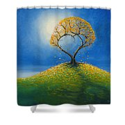 Falling For You 2 Shower Curtain