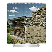 Falling Wall Shower Curtain