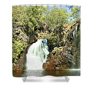 Falling Waters V2 Shower Curtain