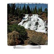 Falls In Site Glen Alpine Falls Shower Curtain