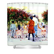 Family Love Union Familiar Shower Curtain