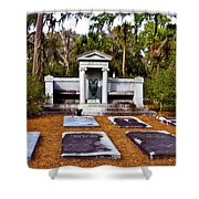 Family Plot Shower Curtain