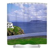Fanad Head Lighthouse, Co Donegal Shower Curtain