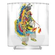 Fancy Dancer 1 Shower Curtain