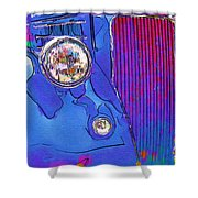 Fancy Dancy Vintage Ford Cabriolet Shower Curtain