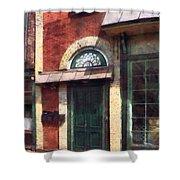 Fancy Green Door Burlington Nj Shower Curtain