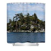 Fanette Island Tea Party Shower Curtain
