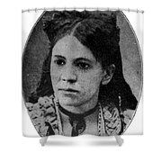 Fanny Jackson Coppin, African-american Shower Curtain