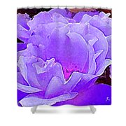 Fantasia Flower Shower Curtain
