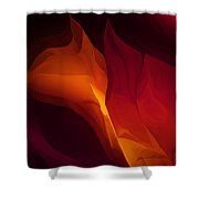 Fantasy Floral 030112 Shower Curtain