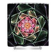 Fantasy Floral Expression 111311 Shower Curtain