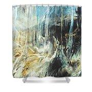 Fantasy Storm Shower Curtain by Linda Sannuti