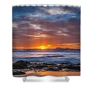 Farewell To Autumn Sun Shower Curtain