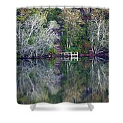 Farewell To Summer - Digital Painting Shower Curtain