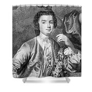 Farinelli (1705-1782) Shower Curtain