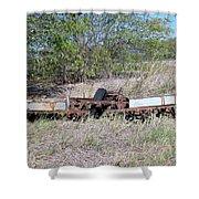 Farm Equipment  Shower Curtain