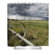 Farm Irrigation Sprinklers Next Shower Curtain