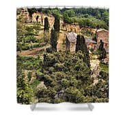Farm Orvieto Italy Shower Curtain