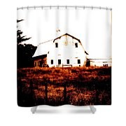 Farm Used Up Shower Curtain
