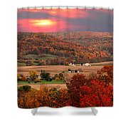 Farmers Of Paint Valley Shower Curtain
