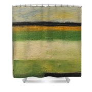 Farmfield By Highway 29 Shower Curtain