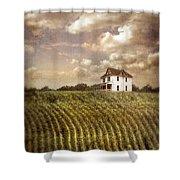 Farmhouse And Cornfield Shower Curtain