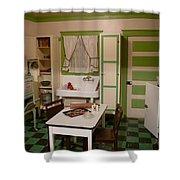 Farmhouse Kitchen Shower Curtain