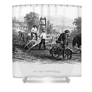 Farming, C1870 Shower Curtain